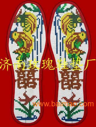绣花鞋垫生产厂家批发代理加盟厂百分百批发代理