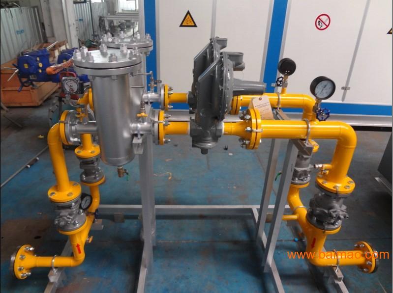 适用于城市门站,区域调压站和工业用户.  燃气调压器特点:  a.图片