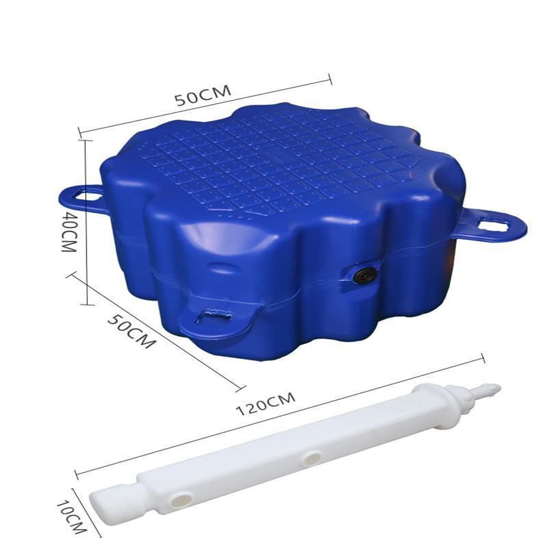 塑料浮筒 浮动码头 水上移动漂浮平台 浮船坞 浮箱