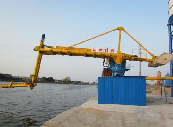 盐城科德KDL固定式粉煤灰、水泥、矿粉螺旋式卸船机