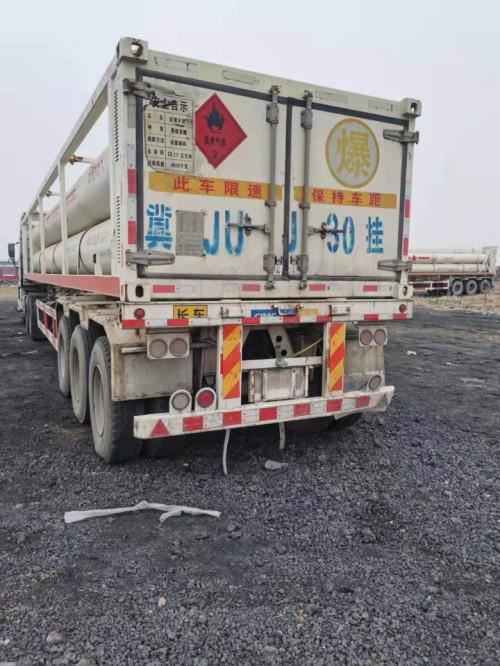 出售CNG6管天然气运输车  高压气体运输车