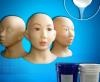人体模型设计加温或室温硫化硅橡胶