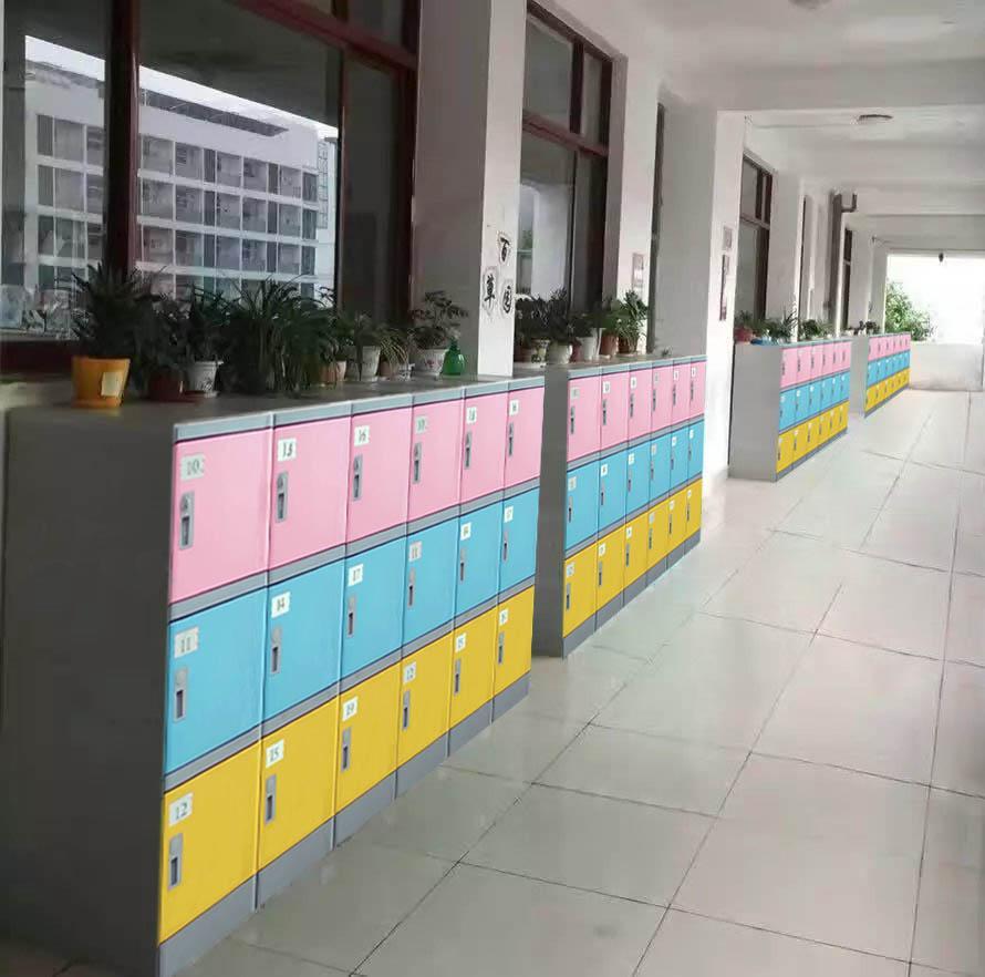 好柜子(广东)ABS塑料环保学生书包柜生产厂家