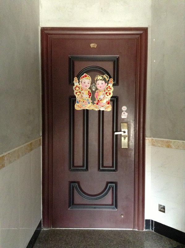 门业新品 钢木门