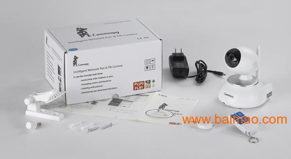 无线wifi远程手机控制监控网络摄像机摄像头