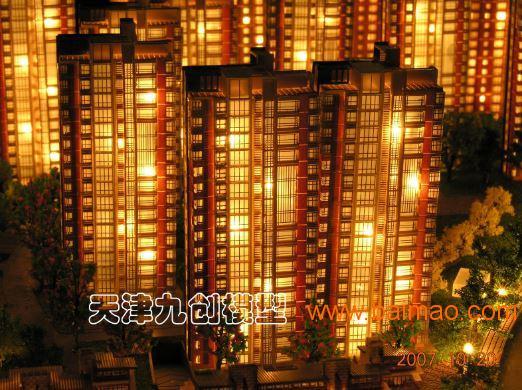 具有品牌的建筑模型、市辖区、南开区建筑模型