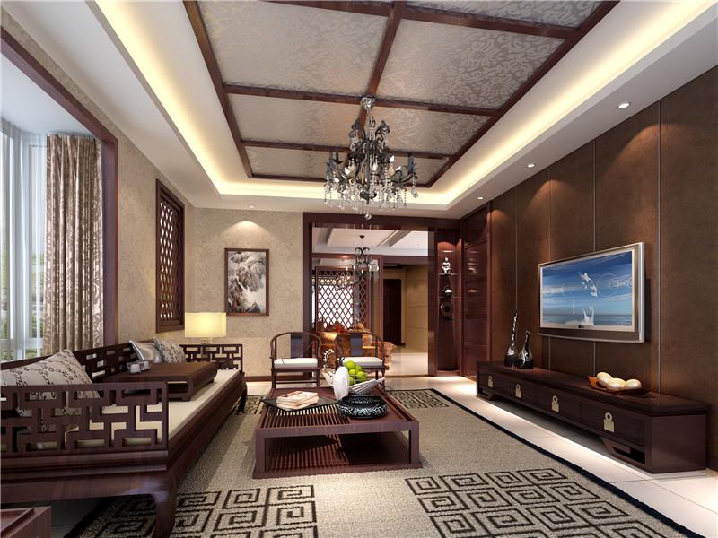 简中装修风格客厅 高清图片