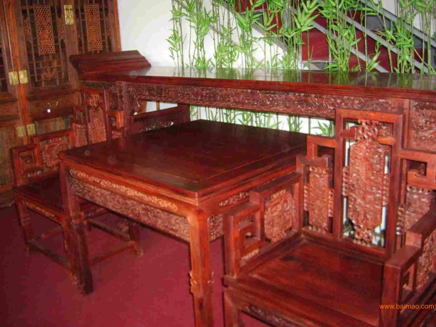 西城北京哪有卖黄花梨紫檀红酸枝黑檀红木家具精一招工家具图片