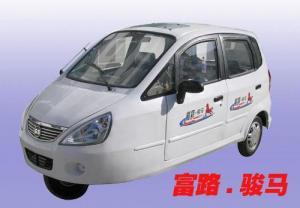 富路骏马A款三轮电动轿 代步车 电动汽车