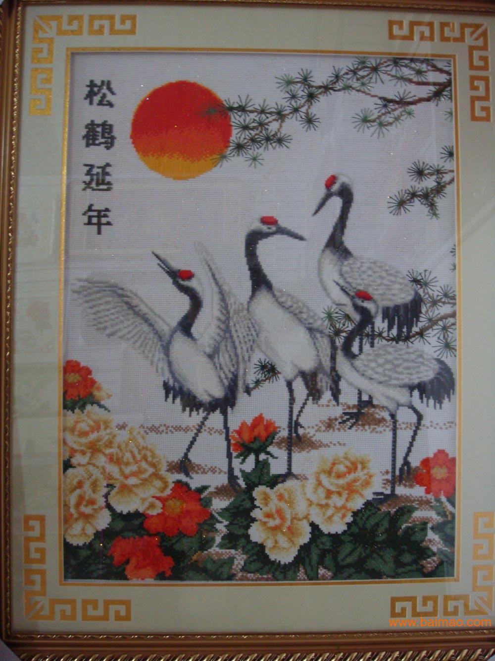 動物類十字繡
