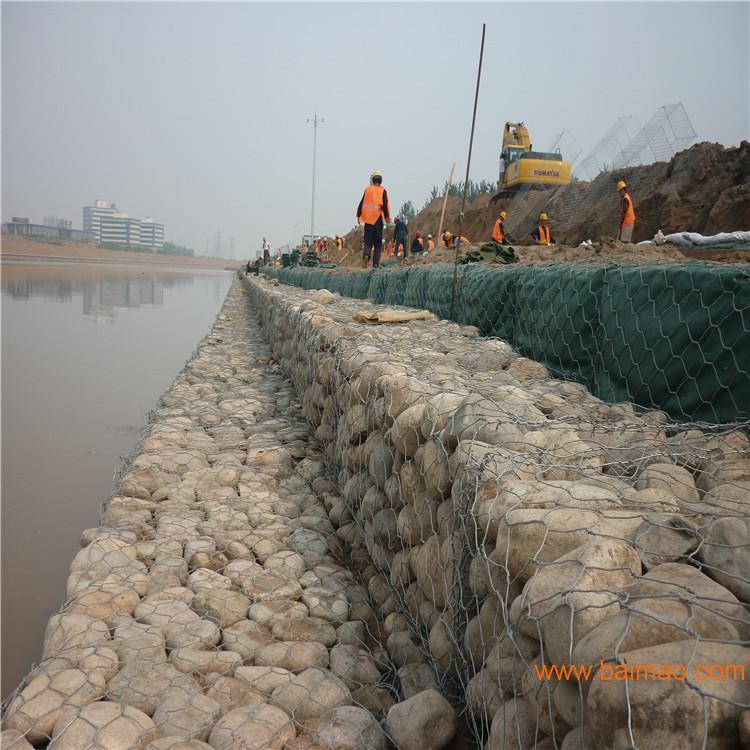 厂家直销装石头网格宾网优质石笼网箱实体厂家价格公道