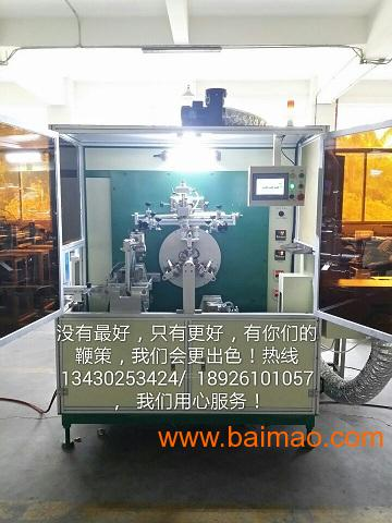 深圳多工位全伺服多功能单色全自动酒瓶盖丝印机