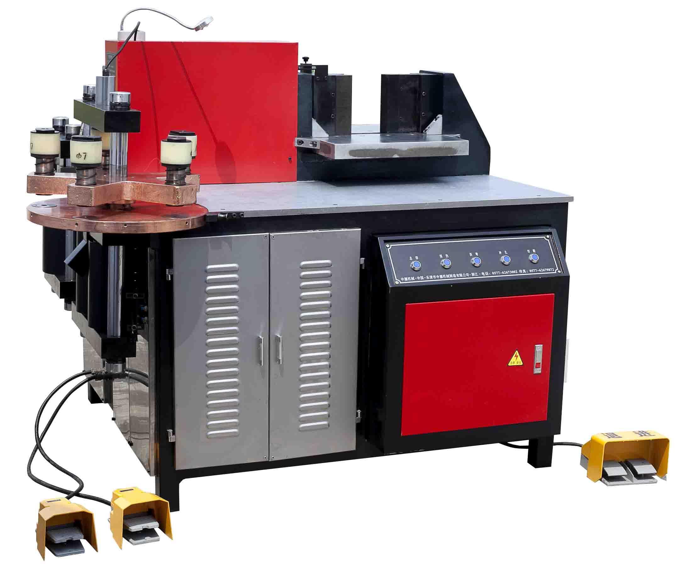 中雁zmmx-3-130铜排加工机图片