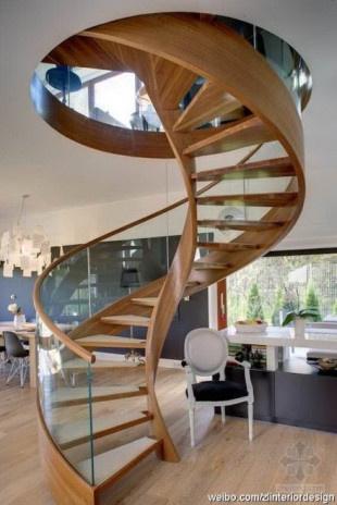 现代风格的楼梯