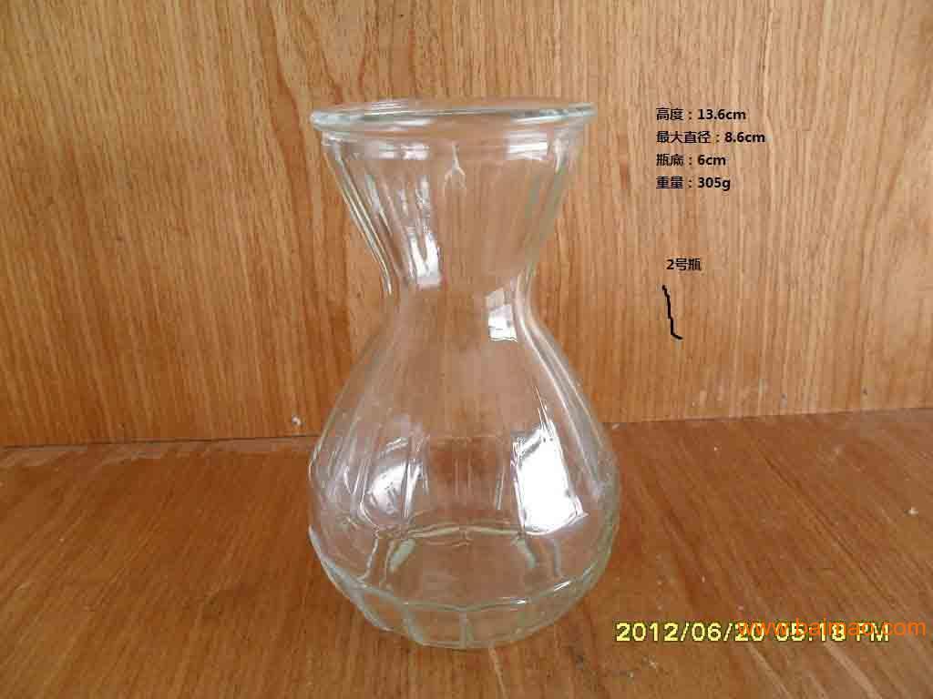 丙烯手绘玻璃瓶花瓶