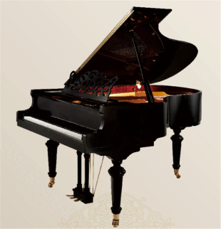 恩斯特三角式原装进口钢琴