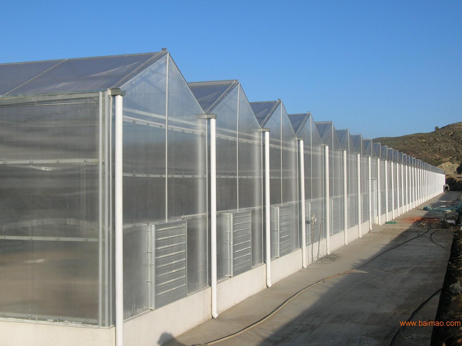 【质量好、重量轻、安全系数更高的阳光板温室大棚,值得信赖...