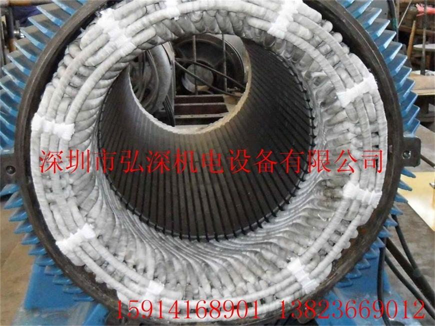 深圳电机维修  大型中型交流电机维修 免费接送