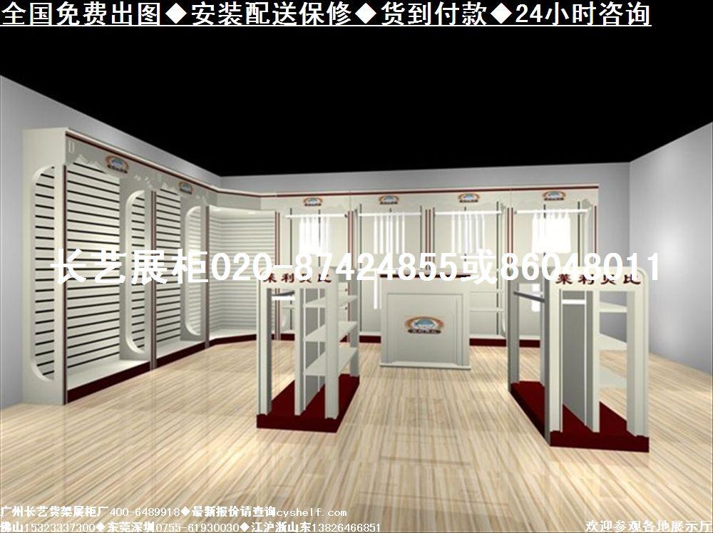 最新童装店装修商场童装展柜欧式童装店展柜效果图图片