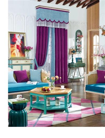 现代简约式的窗帘--垂直帘