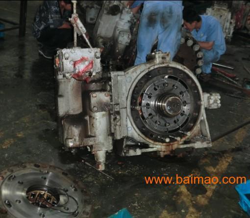 工程船舶打桩船液压马达维修图片