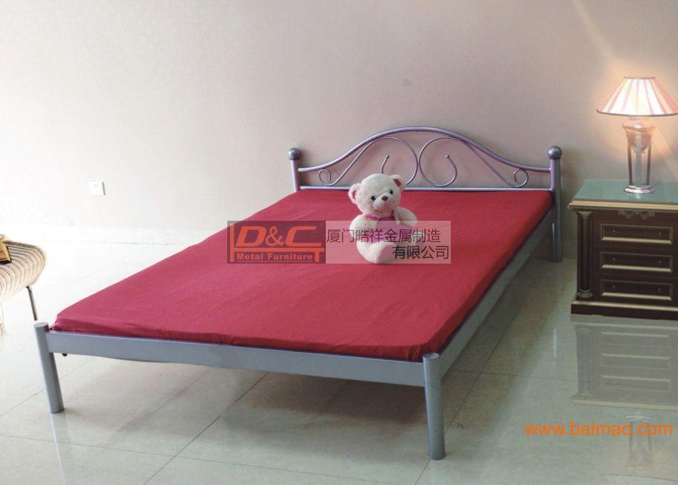 HXB-01 单人床,酒店单人铁床,公寓单人铁床,