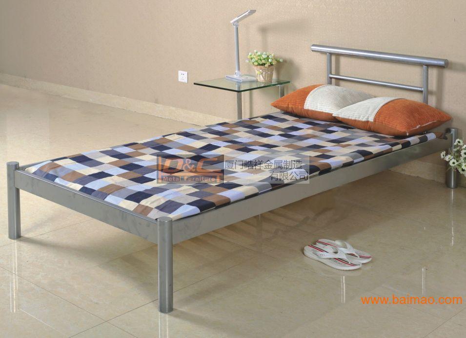 HXB-02 单人床,公寓铁床,酒店铁床,