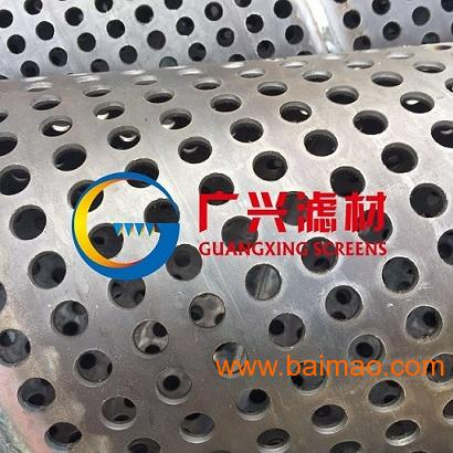 不锈钢螺旋焊打孔管