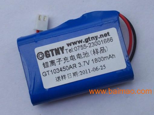 9v充电电池,9v锂电池,500mah锂电池图片