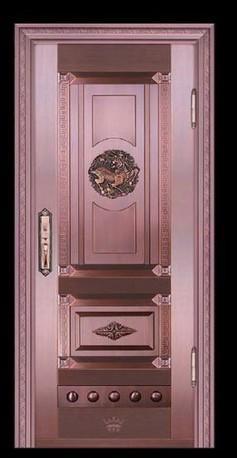 单门铜门系列