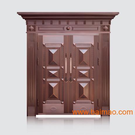 经典宝石铜门