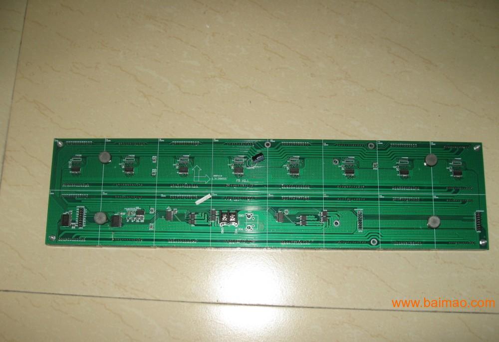 LED显示屏-5.0半户外单色模板