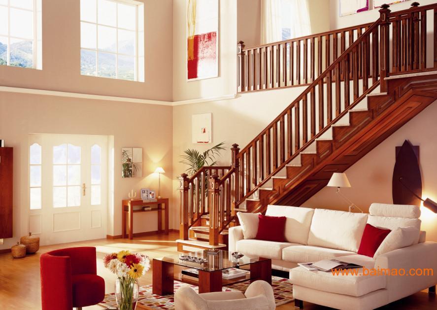 厦门楼梯装饰建材——生态木与石膏板