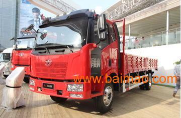 一汽解放j6国五6.8米平板载货车,一汽解放j6国五6.8米平板载货车生