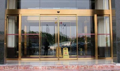 玻璃旋转门