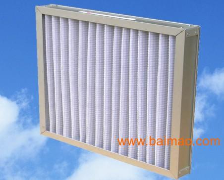 重庆西藏拉萨市初效板式子母架空气过滤网|空调过滤器