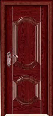 红檀木色实木门