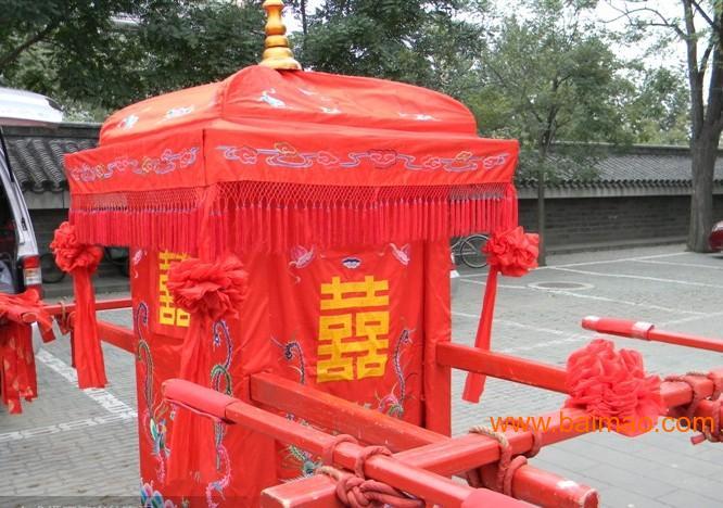 出售服务内容  中式婚礼婚礼是汉传统文化精粹之一,大红花轿,浩浩荡荡图片