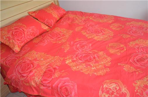 床上喜被定做