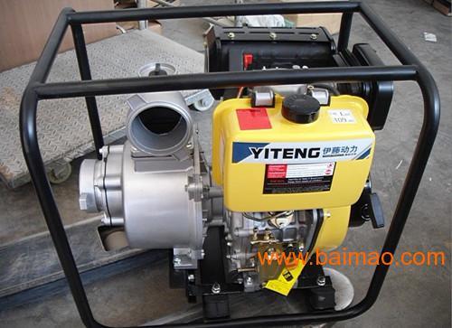4寸柴油发电机带水泵|小型抽水机图片