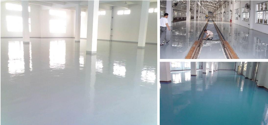 环氧透明面塗地坪漆系列产品