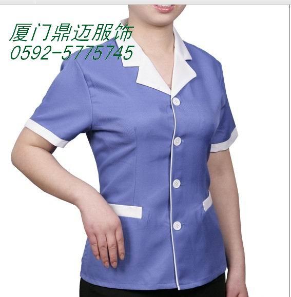 实惠又时尚的保洁工作服