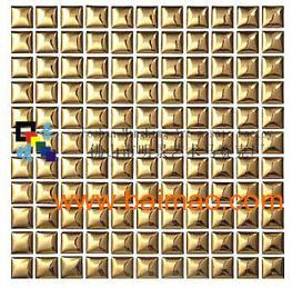陶瓷电镀钛金马赛克A2501