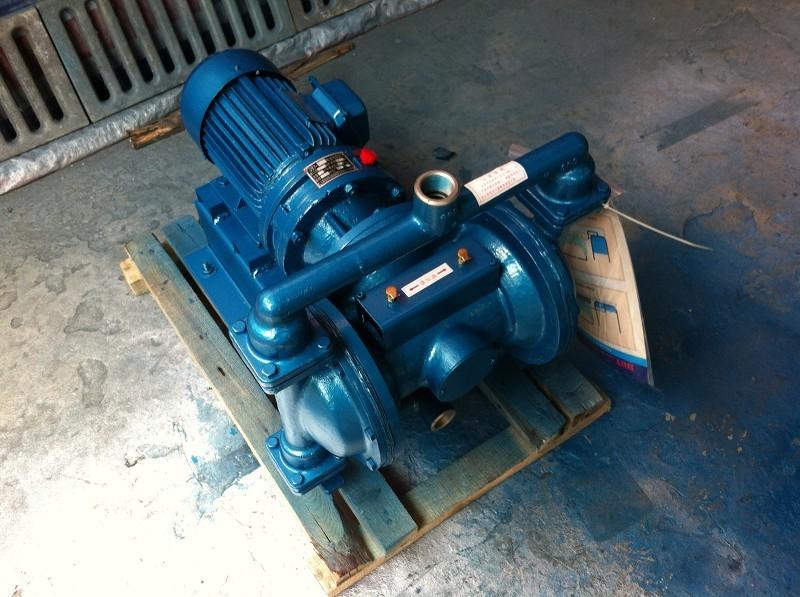 qby气动隔膜泵 隔膜泵工作原理图片