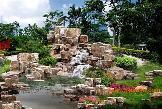 长沙别墅假山,假山水景,庭院假山,长沙别墅假山,假山水景,庭图片