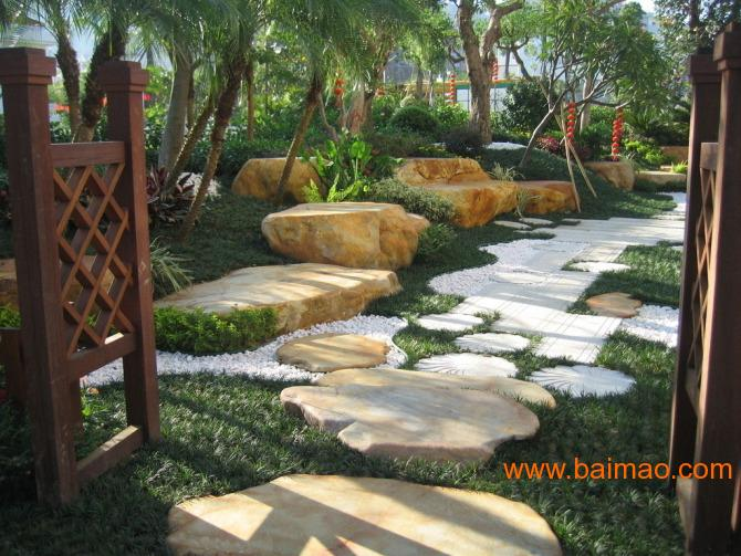 庭院水景设计,屋顶花园设计,景观设计及施工;假山水景设计,庭院小品图片