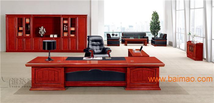 办公家具-老板班台