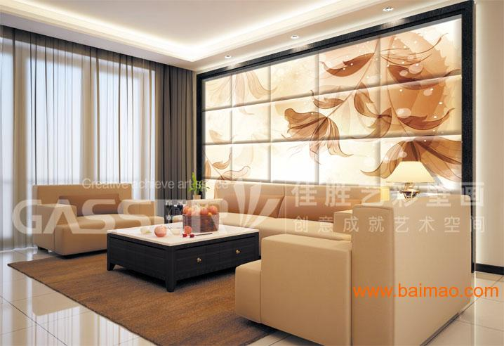 酒店背景新中式风格墙纸定制 中式壁纸图片