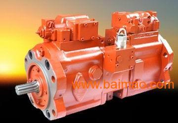 挖掘机主泵液压泵 川崎k3v112液压泵图片