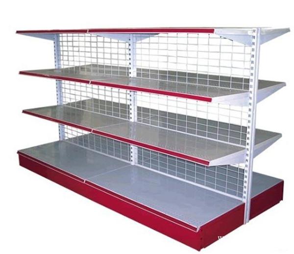 供应不锈钢商品货架(超市、商场专用)